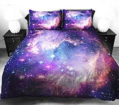 Space Bed Set Anlye Galaxy Quilt Cover Galaxy Duvet Cover Galaxy