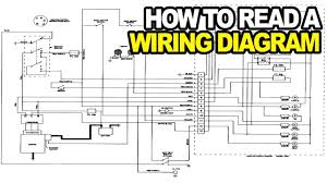 how to read an electrical wiring diagram youtube amazing