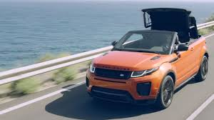 land rover convertible 4 door range rover evoque convertible for all seasons land rover uk