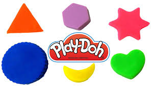 learn shapes for preschoolers with play doh learning kids children