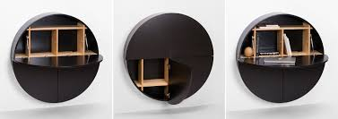 Core77 Com Furniture Prices by Emko U0027s Circular Hideaway Desk And Storage Cabinet Core77
