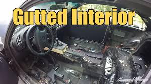 The Beast Car Interior E36 Gutted Driftcar Interior Youtube
