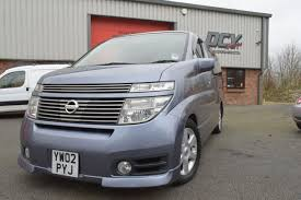 used 2002 nissan elgrand highway star 8 seater day van for sale
