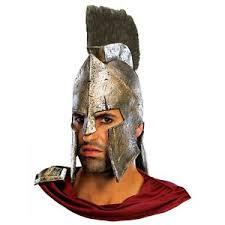 Halloween Costumes Spartan Deluxe Leonidas Costume Helmet 300 Movie Spartan Warrior
