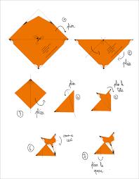suspension origami diy diy origami fox tutorial free origami pinterest origami diy