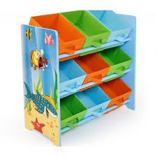 chambre e meuble de rangement étagère jouet panier chambre enfant motif mer