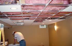 basement ceiling tiles drop ceiling tile installation acoustic