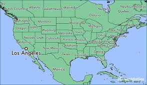 map usa los angeles where is los angeles ca los angeles california map