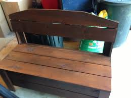 Garden Bench With Storage - outdoor bench with storage 7 steps with pictures