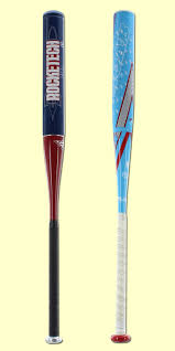 rude american practice bat pack 33 inch anderson rocketech fastpitch softball bat