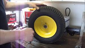 john deere l130 front wheel bearing upgrade youtube