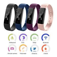 waterproof smart wristband sleep monitor health sports fitness