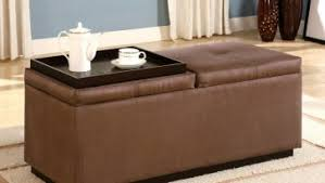 Ottoman Used As Coffee Table Stunning Fabric Ottoman Coffee Table Use Storage In Below Seat If