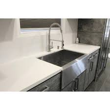 33 inch farmhouse kitchen sink 33 inch stainless steel farmhouse sink atech me