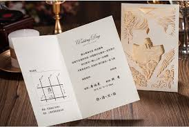 wedding cards usa aliexpress buy wedding invitation cards blnak inner sheet