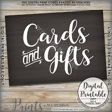 wedding gift table sign cards and gifts sign gifts and cards gift table sign wedding