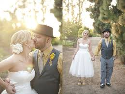 casual rustic wedding dresses green and yellow rustic wedding ruffled
