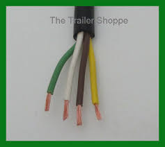 trailer light cable wiring harness 14 4 14 gauge 4 wire jacketed