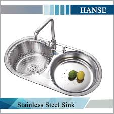 Ke Oval Kitchen Sink Oval Shaped Kitchen Sink Double Round - Round bowl kitchen sink