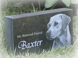 headstones for dogs dog burial pet tribute info