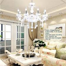 staggering bedroom crystal chandeliers modern fashion romantic