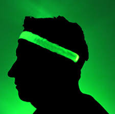 green headband glowcity bright led light up high visibility headbands glowcity llc