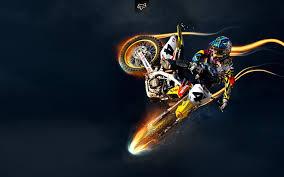 motocross stunts freestyle suzuki motocross wallpapers hd wallpapers fox pinterest