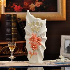 floor vases home decor whitewashed tall oblong wooden vase set of