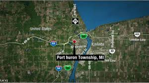 Port Huron Michigan Map by 2 Killed 5 Hurt In Wrong Way Crash On I 69 In Port Huron