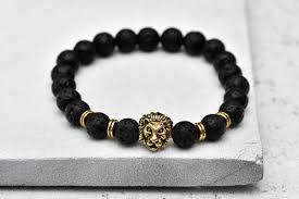 design charm bracelet images Xerxes lavastone gold lion head charm bracelet ellimen design jpg