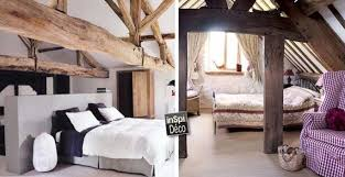chambre bois chambres avec poutres apparentes en bois voici 20 exemples