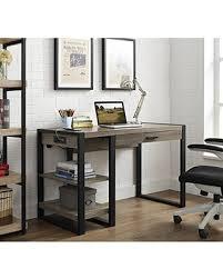 48 Computer Desk Deals On We Furniture 48 Industrial Wood Storage Computer Desk