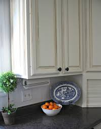 glazed cabinets paper towel holder topiary kitchen pinterest