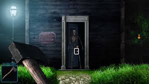 100 door escape scary home walkthroughs room escape scary house 3 on the app store
