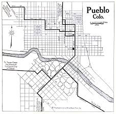 Colorado Maps by Pueblo County Colorado Maps And Gazetteers
