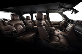 lexus gx captains chairs 2015 infiniti qx80 limited first test motor trend