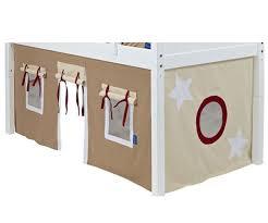Khaki Curtains Bunk Bed Curtains Dk Khaki Lt Khaki U0026 Red Bed Accessories