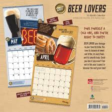 i love beer 2017 wall calendar great gifts for beer lovers