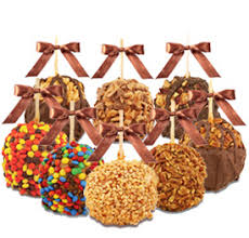 candy apple bags gourmet caramel candy apple 10 pack gift assortment