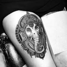 thigh sleeve tattoo designs see this instagram photo by inkstinct tattoo app u2022 4 725 likes