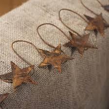 primitive tin garland garlands