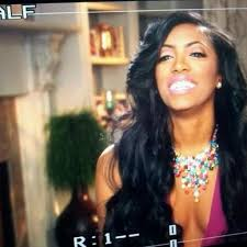 what type of hair does porsha stewart wear porsha williams