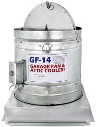 gf 14 garage fan cooling and ventilation system