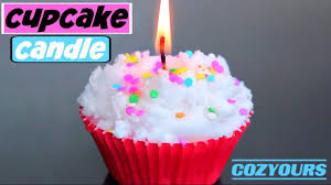 cupcake candles diy cupcake candle using cozyours how to make cupcake candles