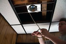 change ceiling light to recessed light how to install recessed lighting enter image description here