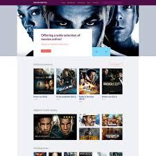 membuat website film online movie templates movie site templates