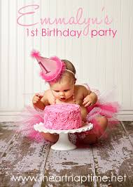 baby s birthday ideas pretty in pink birthday party i heart nap time