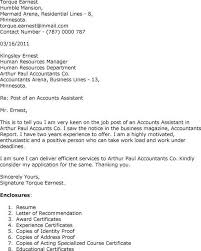 sample cover letters for accounting accountant cover letter