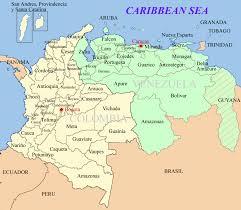 Venezuela World Map by Venezuela U0027s Border Crisis Business Insider