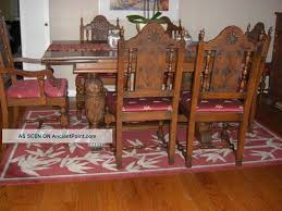 antique dining room sets antique oak dining room furniture antique carved oak dining room